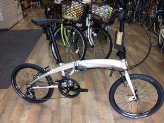 tern・Verge N8 折りたたみ自転車