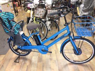 子供乗せ電動アシスト自転車 ブリヂストン・ビッケシリーズ