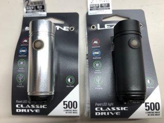 LEZYNE・CLASSIC DRIVE 500 LEDライト